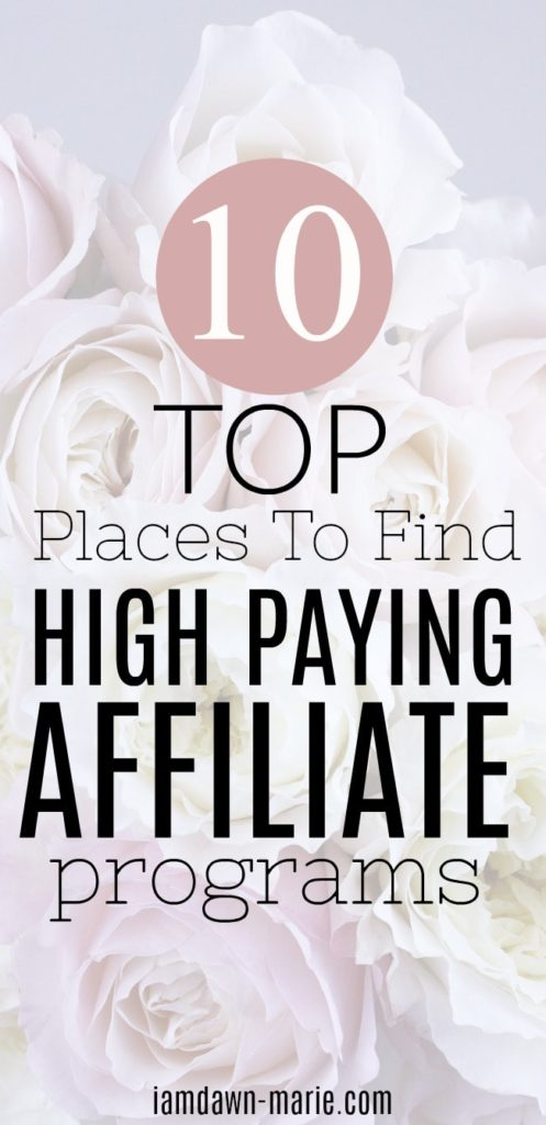 Top 10 places to find high paying affiliate programs for marketers 10 top places to find high paying affiliate programs min malvernweather Gallery