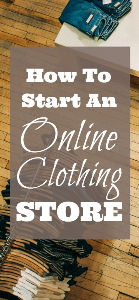 Start your own online clothing store