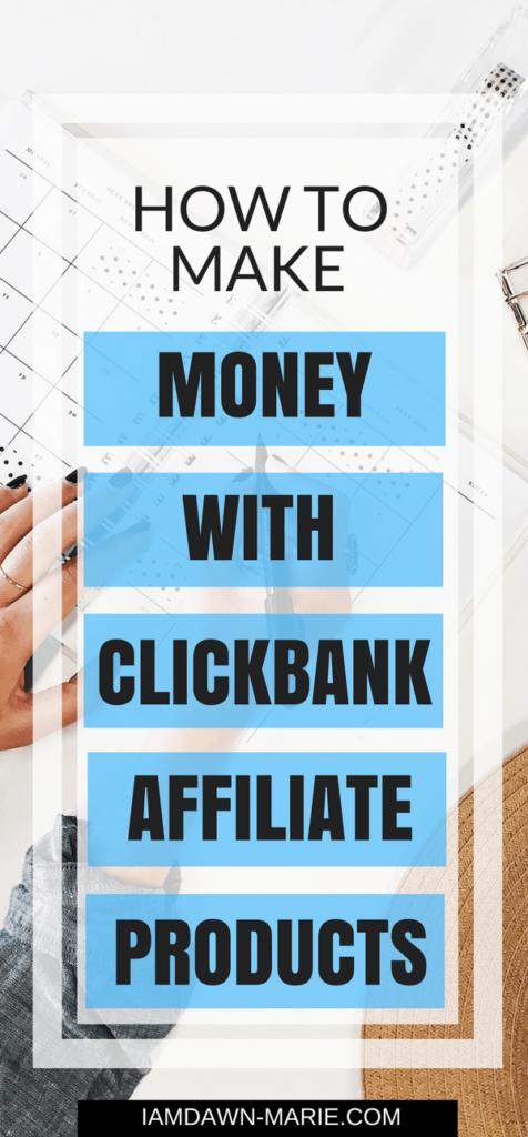 comment gagner de l'argent avec les produits d'affiliation clickbank grâce au marketing d'affiliation clickbank