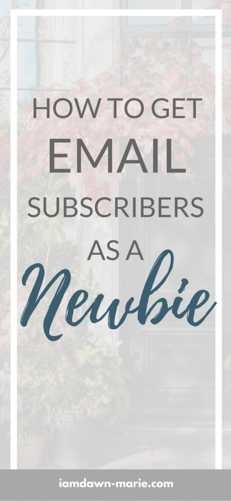 The Ultimate Guide: How To Get Email Subscribers As A Newbie
