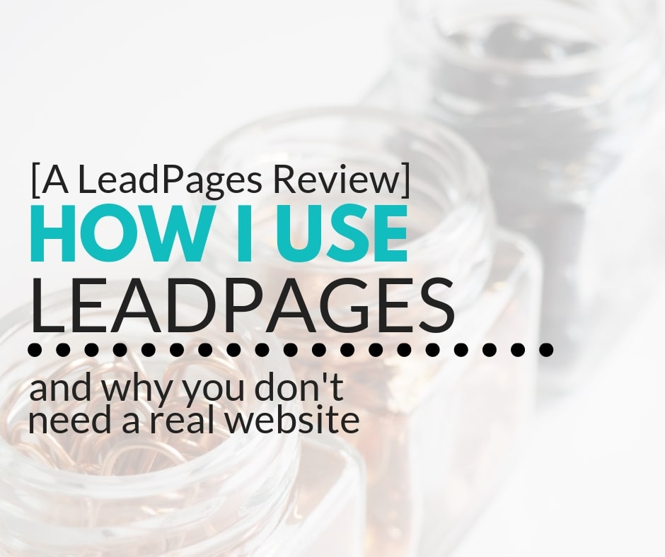 Series Review Leadpages