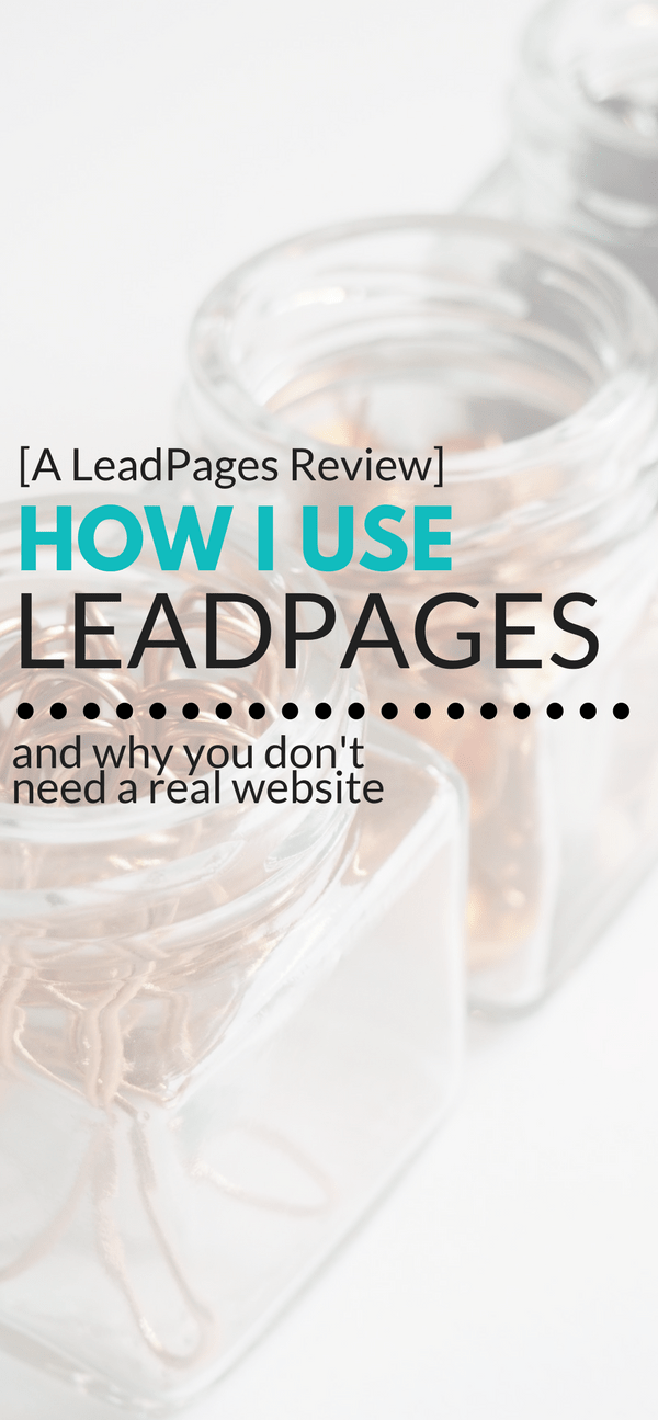 Cheap Pay As You Go Leadpages