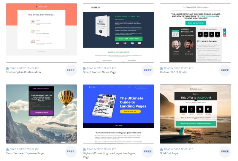 The Greatest Guide To Leadpages Designer
