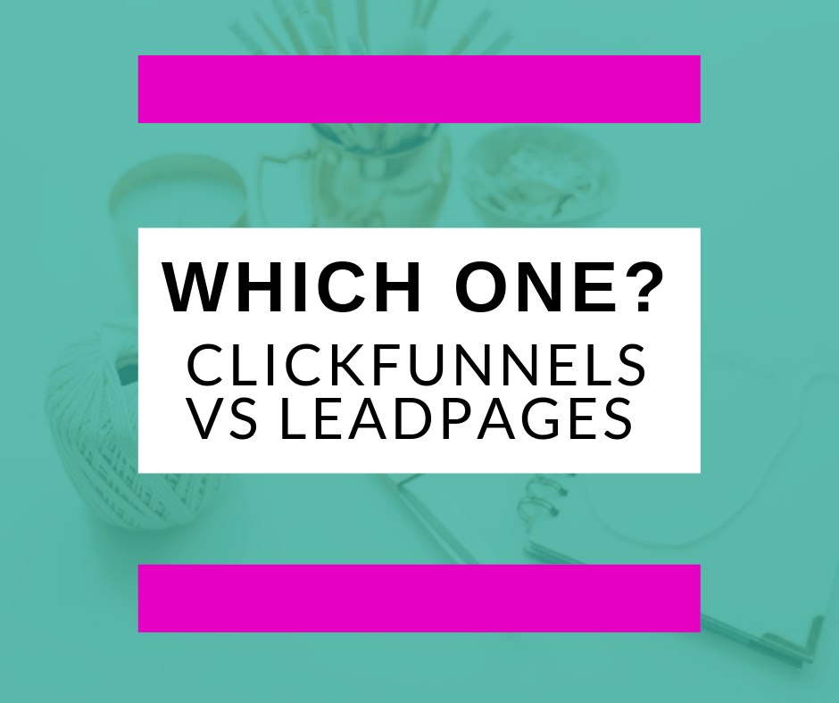 Not known Details About Clickfunnels Vs Leadpages