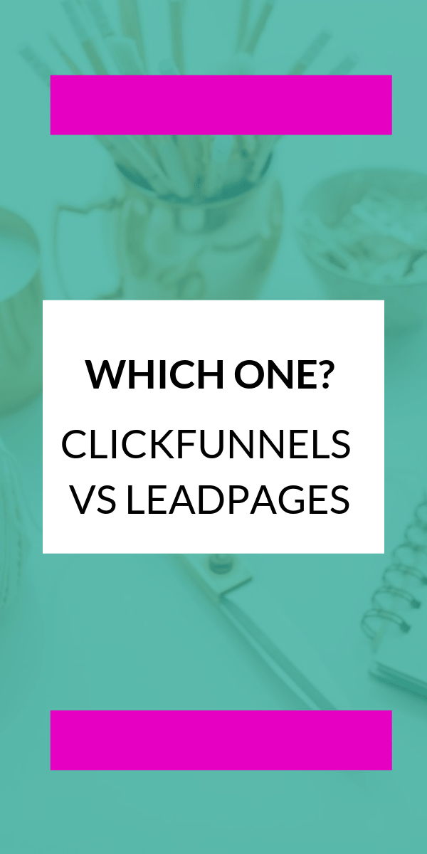 Getting The Clickfunnels Vs Leadpages To Work