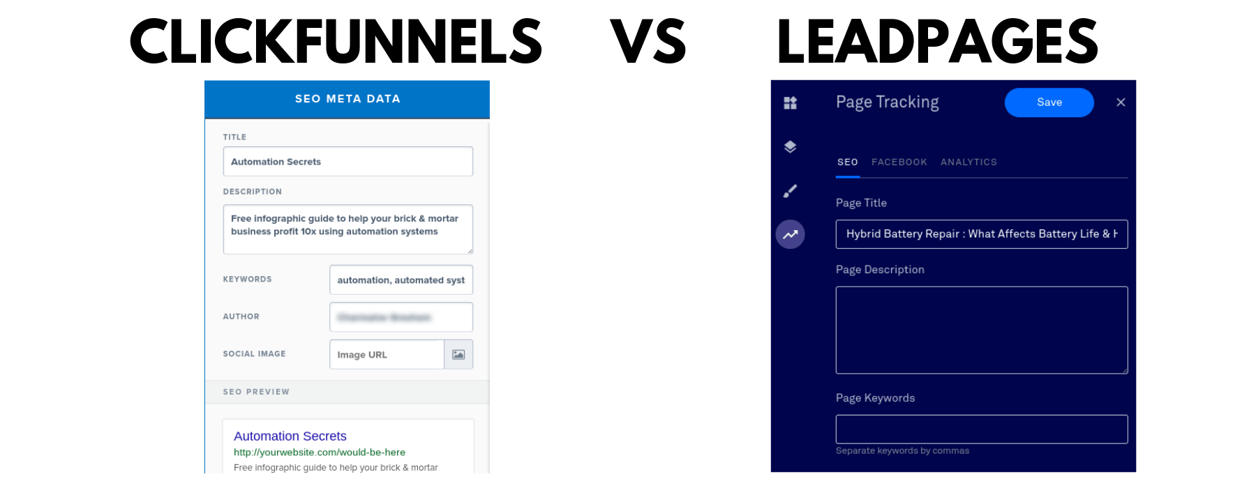 All about Clickfunnels Vs Leadpages 2016